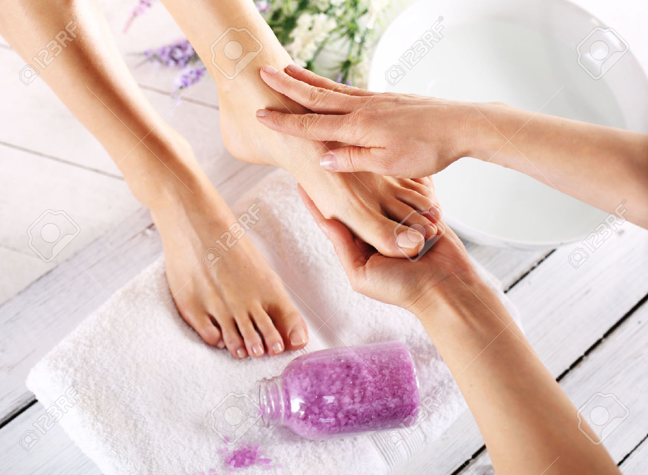 Salon Services Foot Spa